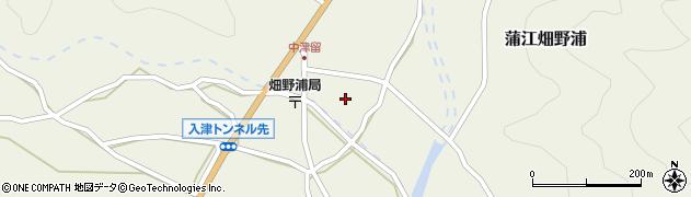 大分県佐伯市蒲江大字畑野浦1630周辺の地図