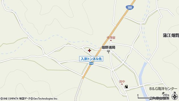 大分県佐伯市蒲江大字畑野浦767周辺の地図