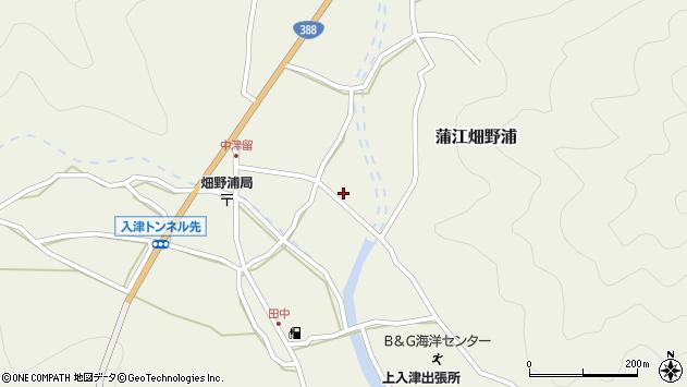 大分県佐伯市蒲江大字畑野浦1656周辺の地図