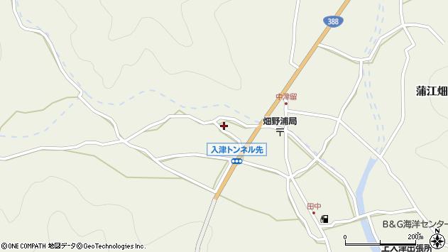 大分県佐伯市蒲江大字畑野浦780周辺の地図
