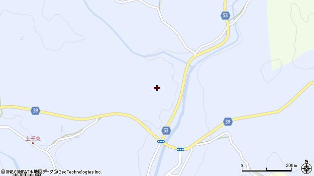 大分県佐伯市宇目大字千束3092周辺の地図