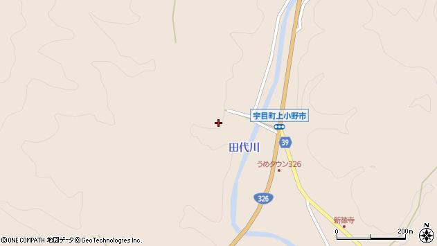 大分県佐伯市宇目大字小野市2593周辺の地図
