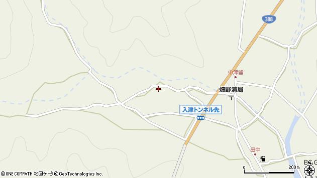 大分県佐伯市蒲江大字畑野浦836周辺の地図