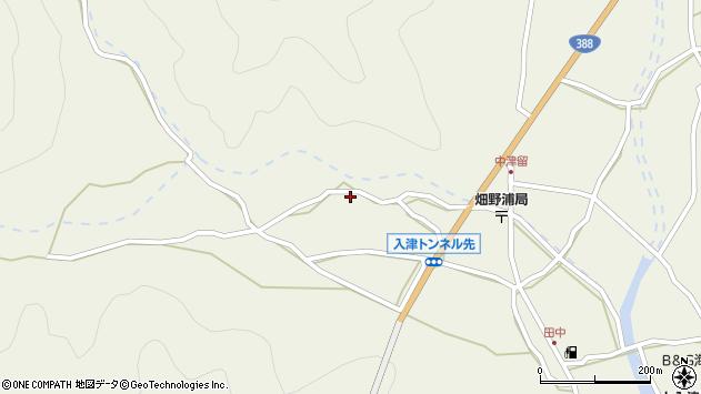 大分県佐伯市蒲江大字畑野浦742周辺の地図