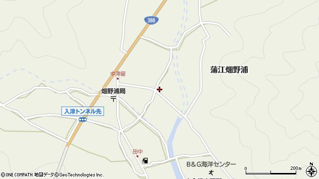 大分県佐伯市蒲江大字畑野浦1657周辺の地図