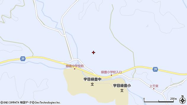 大分県佐伯市宇目大字千束伏野周辺の地図