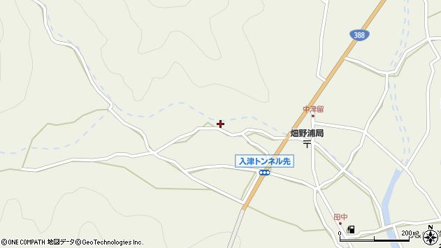 大分県佐伯市蒲江大字畑野浦792周辺の地図