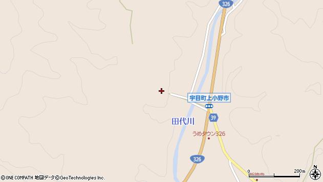 大分県佐伯市宇目大字小野市2597周辺の地図
