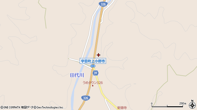 大分県佐伯市宇目大字小野市2696周辺の地図