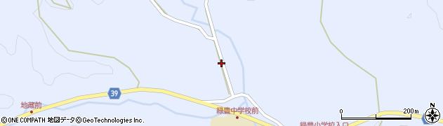 大分県佐伯市宇目大字千束1326周辺の地図