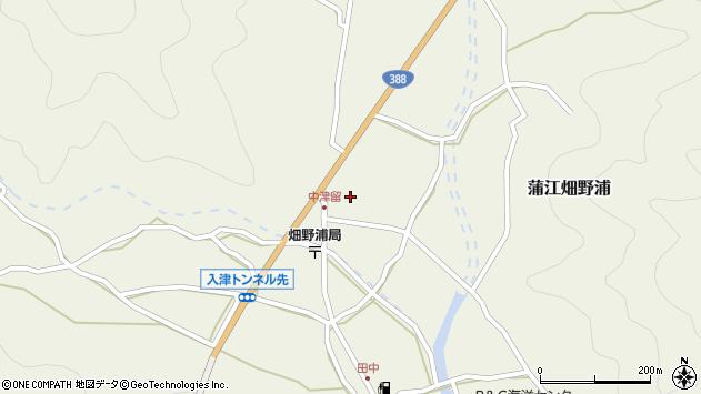 大分県佐伯市蒲江大字畑野浦1612周辺の地図