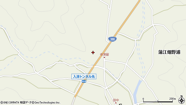 大分県佐伯市蒲江大字畑野浦1593周辺の地図