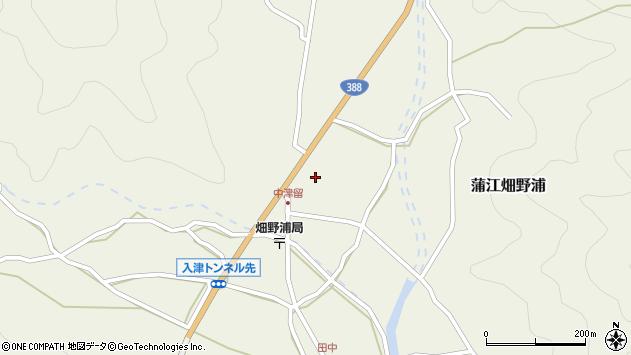 大分県佐伯市蒲江大字畑野浦1710周辺の地図