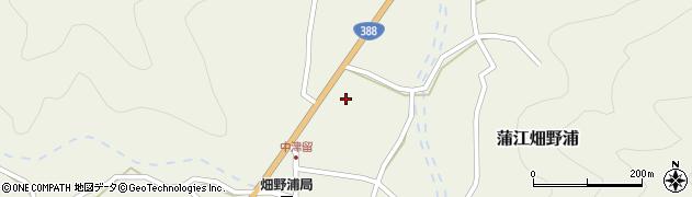 大分県佐伯市蒲江大字畑野浦1700周辺の地図