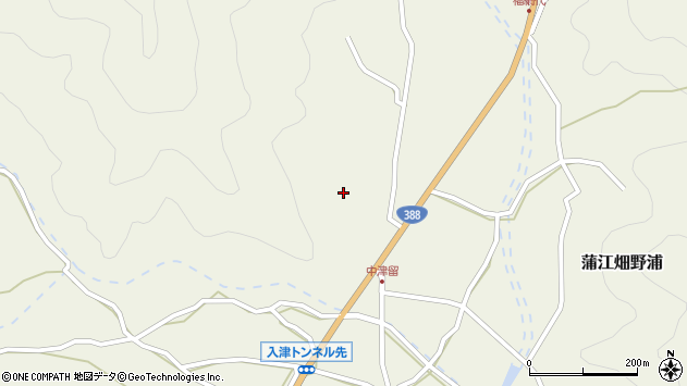 大分県佐伯市蒲江大字畑野浦1555周辺の地図