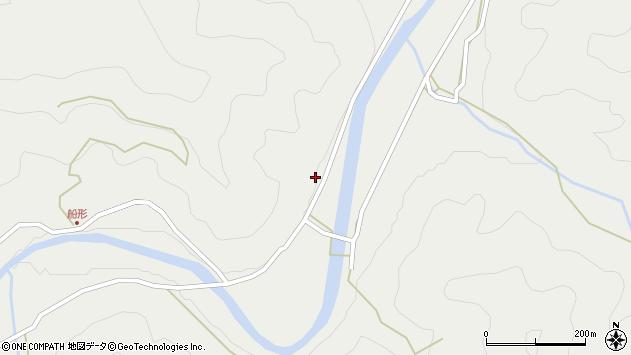 大分県佐伯市青山3852周辺の地図