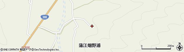 大分県佐伯市蒲江大字畑野浦2384周辺の地図