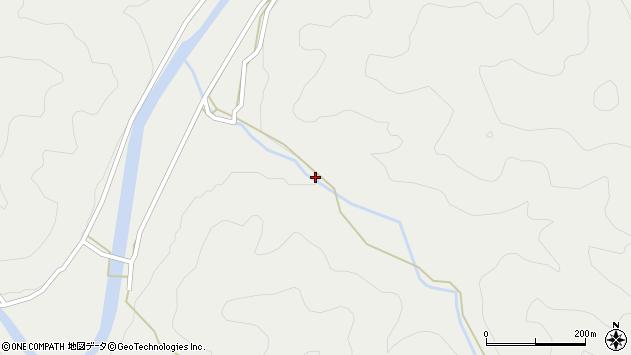 大分県佐伯市青山4539周辺の地図