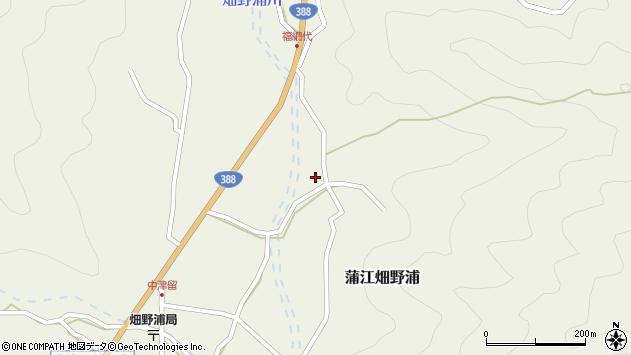 大分県佐伯市蒲江大字畑野浦2368周辺の地図