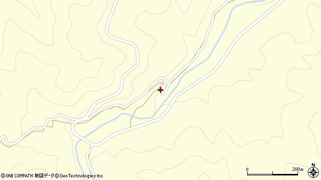 大分県竹田市神原2465周辺の地図