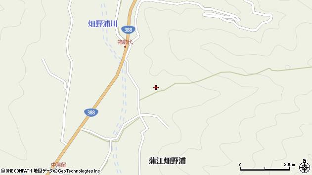 大分県佐伯市蒲江大字畑野浦2348周辺の地図