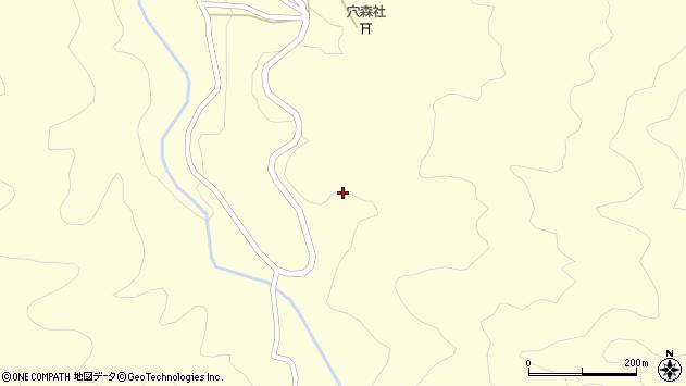 大分県竹田市神原1478周辺の地図