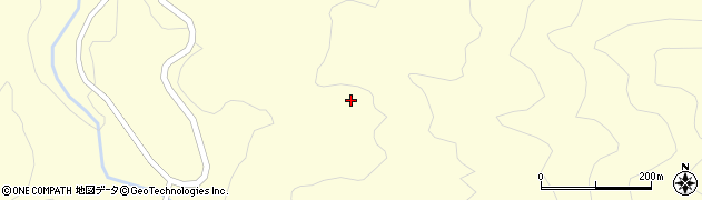 大分県竹田市神原田下周辺の地図