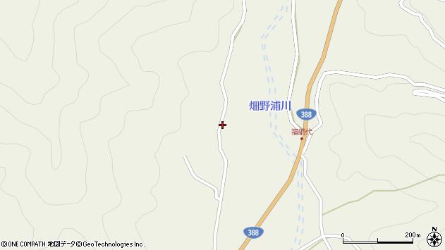 大分県佐伯市蒲江大字畑野浦1847周辺の地図