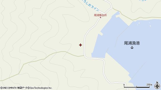 大分県佐伯市蒲江大字畑野浦2820周辺の地図