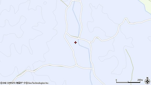 大分県佐伯市宇目大字千束4194周辺の地図