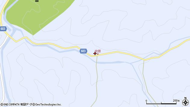 大分県佐伯市直川大字赤木1972周辺の地図