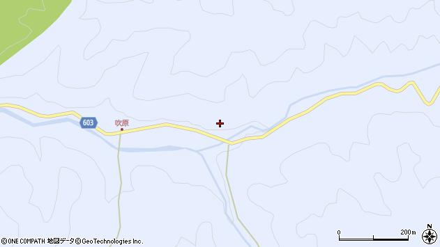 大分県佐伯市直川大字赤木955周辺の地図