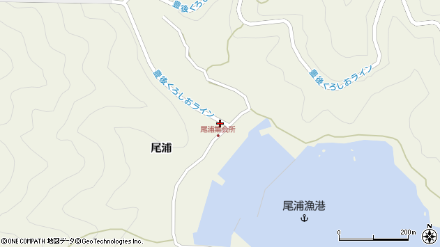 大分県佐伯市蒲江大字畑野浦2917周辺の地図