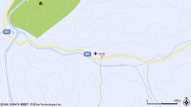 大分県佐伯市直川大字赤木1974周辺の地図