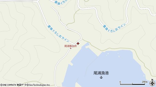 大分県佐伯市蒲江大字畑野浦2920周辺の地図