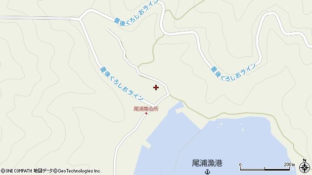 大分県佐伯市蒲江大字畑野浦3010周辺の地図