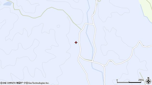 大分県佐伯市宇目大字千束4122周辺の地図