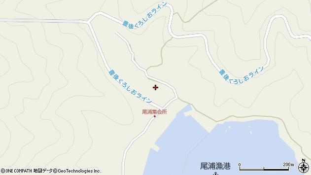 大分県佐伯市蒲江大字畑野浦2926周辺の地図