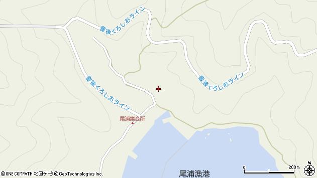大分県佐伯市蒲江大字畑野浦2908周辺の地図