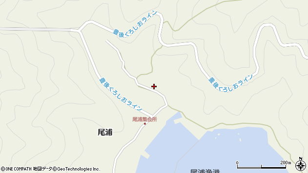 大分県佐伯市蒲江大字畑野浦2931周辺の地図