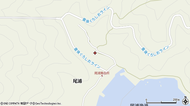 大分県佐伯市蒲江大字畑野浦2955周辺の地図