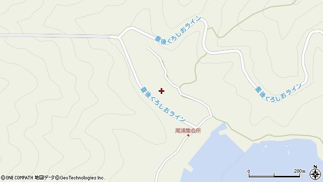 大分県佐伯市蒲江大字畑野浦2989周辺の地図