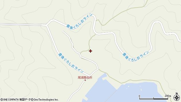 大分県佐伯市蒲江大字畑野浦2967周辺の地図