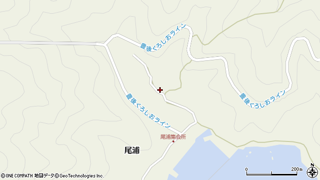 大分県佐伯市蒲江大字畑野浦2993周辺の地図