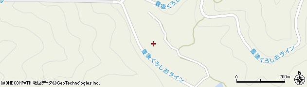大分県佐伯市蒲江大字畑野浦2990周辺の地図