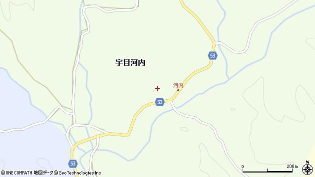 大分県佐伯市宇目大字河内285周辺の地図
