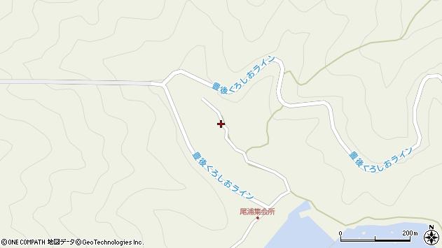 大分県佐伯市蒲江大字畑野浦3018周辺の地図