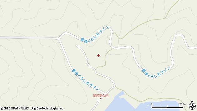 大分県佐伯市蒲江大字畑野浦3006周辺の地図