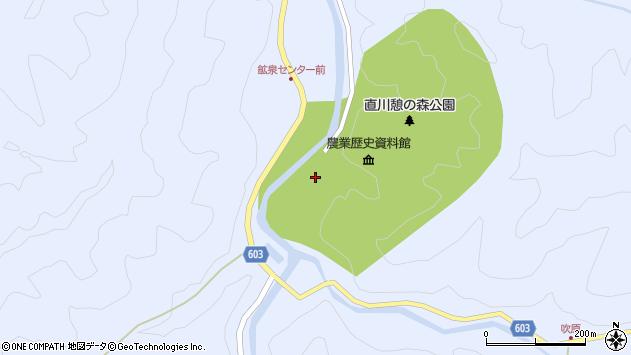 大分県佐伯市直川大字赤木2052周辺の地図