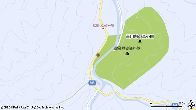 大分県佐伯市直川大字赤木1260周辺の地図